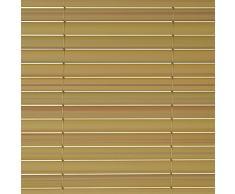 Sol Royal - Protección visual de pvc para barandillas, cercas o vallas de jardín o terraza - 180x400 cm - Natural