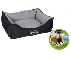 Scruffs Expedition Resistente Al Agua Mascota Perro / Gato Box Cama, Grafito - Grande