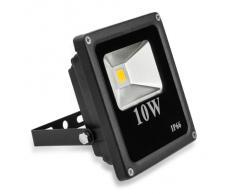 LE Foco LED 3400026-WW, Exteriores 10W=100W Halógeno Blanco cálido IP66