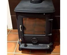 Dirtbusters Negro Estufa y parrilla polaco 250 ml para estufas de madera (Rejillas de chimenea y registro de quemadores