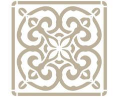 Stencil Mini Deco Fondo 068 Azulejo Iberia 03 Medidas aproximadas: Medida exterior del stencil: 12 x 12 Medida del diseño: 9,5 x 9,5