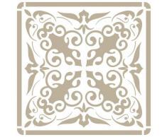 Stencil Mini Deco Fondo 075 Azulejo Iberia 09. Medida exterior del stencil: 12 x 12 cm Medida del diseño: 9,5 x 9,5 cm