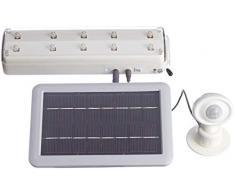 Esotec 102091 - Reflector solar PIR, color blanco