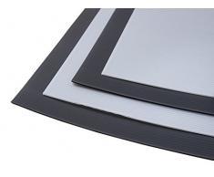 Negro 2 mm Correx láminas para suelo y protección superficial 120 x 240 cm (blanco opcional) tamaño selecciona tus
