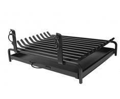 Imex El Zorro 10923 - Parrilla para chimenea con cajón (60 x 45 cm)
