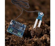 Jiamins Sistema de riego automático con sensor de humedad, 12 V