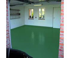 7 kg hojas verde verde ral6002 2 K revestimiento de balcón revestimiento de suelo para exterior, color de balcón, terraza color
