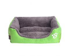 Ruikey Cómodo Casa para Mascotas,Cama Perro Pequeño Perro De Perrito Sofa Cama Gato 45cm*40cm*12cm