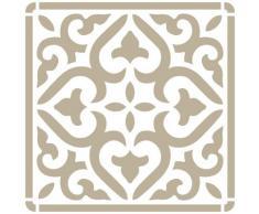 Stencil Mini Deco Fondo 069 Azulejo Iberia 04 Medidas aproximadas: Medida exterior del stencil: 12 x 12 Medida del diseño: 9,5 x 9,5