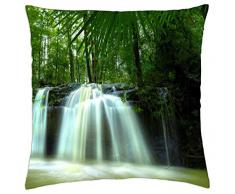 Noosa interior cascada, Queensland, Australia - Funda de cojín (18