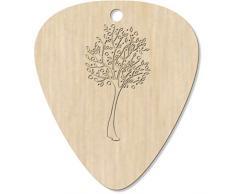 Azeeda 7 x 'Árbol de Frutas' Guitarra Púa (GP00002473)