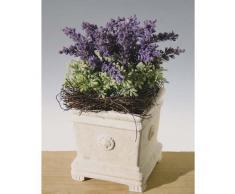 Arreglo de lavanda sedum artificial en maceta, 30 cm - Composición floral / Flor decorativa - artplants