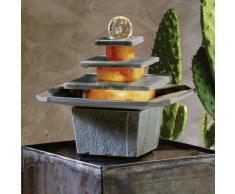 Mandala Design Slate fuente de interior fuente de piedra fuente Feng Shui