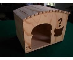 Because tamaños XL, casas para gatos Profesional y rascadores Blitzen Made in Italy 100%