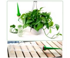 SODIAL(R) 4 x Sistema de Riego para Planta de Jardin para Vacacion