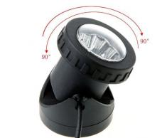 Xcellent Global Resistente al Agua para Exterior LED Solar Foco Proyector Lámpara de proyección para Jardín Piscina Estanque Lámpara para Punto de Luz LD054
