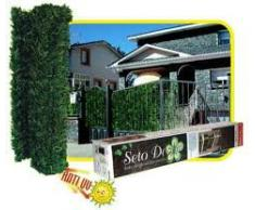 Seto Artificial Vallas Jardin Fino 2 Mts Jardin