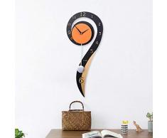 XIXIGZ Relojes De Pared Número De Pregunta Jardín Creativo Mute Swing Reloj De Moda Sala De Estar Colgando Mesa Linda Personalidad Decoración Hogar Reloj De Pared De Cuarzo