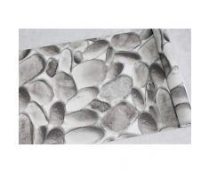 haokhome? Moderno Piedra Sintética Rollo de papel pintado para la pared lt. grey/DK. GREY 3d realista de adoquín papel habitación decoración de pared