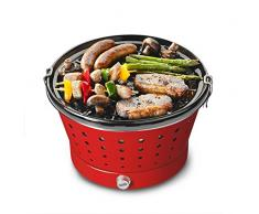 Bruzzzler Grillerette Classic – Barbacoa de carbón sin Humo, con Bolsa de Transporte