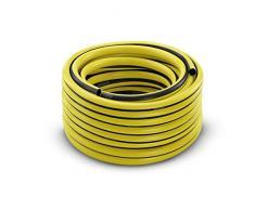 Karcher - Manguera de jardín, 1/2 Básica, 50 m, color Negro, Amarillo