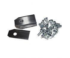 SBS - Cuchillas de repuesto para Gardena® Robot cortacésped R40LI, R70LI - 60 unidades)