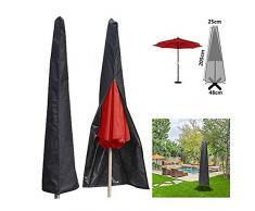 CHUER Funda Protectora para Parasol Sombrilla Excéntrico Grande Cubierta Impermeable para Parasoles Lateral de Jardín Resistente a la Intemperie Oxford 210D