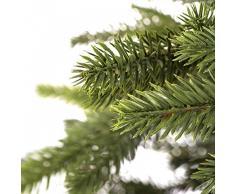 árbol de Navidad artificial árbol de Navidad árbol de Navidad artificial abeto árbol -- 220cm ABETO PREMIUM -- moldeadas por inyección perfecta de polietileno