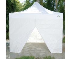 Caravan Canopy 10 pies Toldo Lateral Kit para Pantalla – Pantalla y Aluma Shade Modelos, Color Blanco