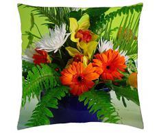 Composición de flores - Funda de cojín (18