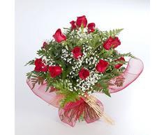 Ramo de 20 rosas rojas naturales