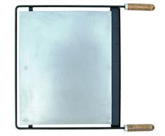 Imex El Zorro 71631 - Plancha para barbacoa, inox, 76 x 41 cm