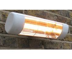 Heatlight Estufa Blanco con tecnología de infrarrojos para exteriores 1500 W
