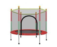 Mini TrampolíN. TrampolíN para NiñOs En Interiores O Al Aire Libre con Protector De Seguridad. TrampolíN De JardíN. Puede Soportar 200 Kg.