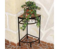 Merano 12013 – Soporte para flores/esquina mesa con mosaico de mesa 52 cm