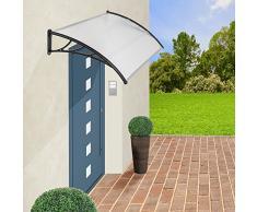 TecTake MARQUESINA Techo TOLDO Dosel para Puertas PROTECCIÓN - Varias tamaños - (Tamaño: 150 cm | No. 401265)