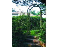 "Jardín Verde - Arco decorativo Pérgola ""Rosa"" de abeto. Decoración para jardín."