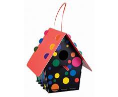 Troppenz Bachmann TT06 - Casa para pájaros, color multicolor