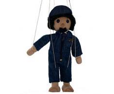 HCM marioneta de madera teatro de marionetas mecánico - altura 18 cm
