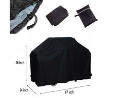Wear de Beauty Barbacoa BBQ COVER Waterproof Protective Hood Air Outdoor Barbacoa Protection for Gas Charcoal Electric Barbecue
