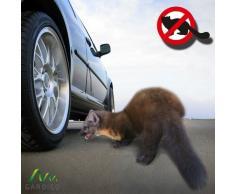 Gardigo Ahuyenta animales susto para perros, susto para gatos, susto para comadrejas, ahuyentador de mapaches con estaca incluida