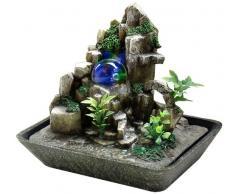 Fuente Zen para interiores con iluminación a led