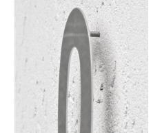 TecTake - Número de casa de acero inoxidable 18/8, 20 cm - varios modelos (Número 0 | 400809)