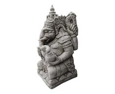 Gigante de Ganesha 180 kg - Adorno de jardín de piedra fundido/Estatua/Escultura/Koi/Feng Shui