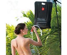 5 gallon{1} F.Dorla/20L Camping ducha Solar al bolso del PVC agua climatizada sdintel