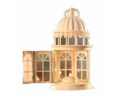 candelabro portavelas madera colgante metal farol linterna mirador puerta hueso