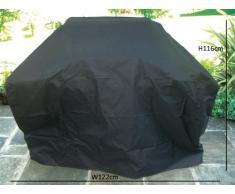 Bentley Universal tamaño mediano barbacoa Gas gris Premium poliéster Lienzo con 3-quemador de esencias