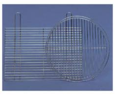 Landmann - Parrilla cromada para barbacoa (58 x 30 cm)