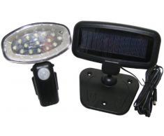 Am-Tech - Foco solar con sensor de movimiento , 15 LED