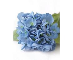 kiuytghnb azul sirena hortensias flores artificiales 2 Quilt